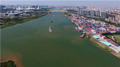 Sanlong Bay high-end innovation cluster areas in Foshan is a place that will exemplify innovation of Guangdong-Hong Kong-Macao Greater Bay Area in ecological civilization. Taken by Li Ruiming