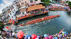 Dragon boat racing (By Hee)