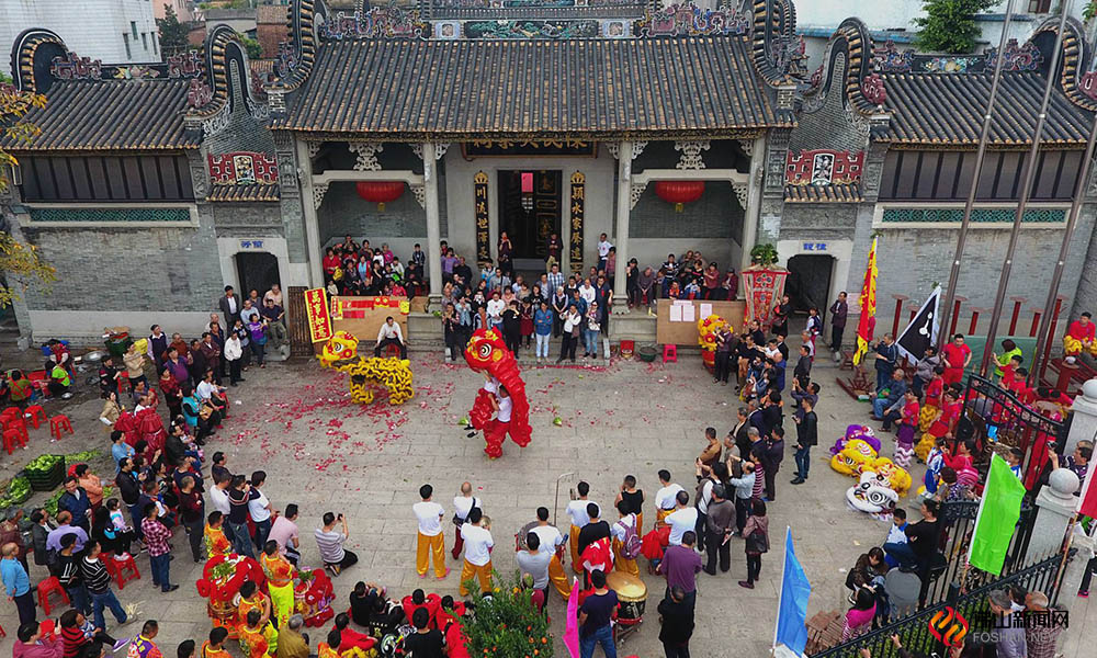 On the 26th day of the first lunar month, wonderful Shishan! People came to enjoy lettuce party in Guanyao, Shishan. The lettuce party was selected as Guangdong intangible cultural heritage with a history of 400 years.